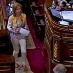 Rosa Diez en el Congreso