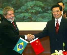 China y Brasil