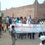 Protestas saharauis