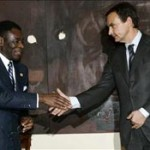 Zapatero y Obiang