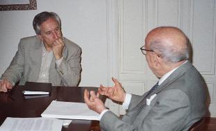Eugenio Pordomingo y Rafael Pérez Escolar