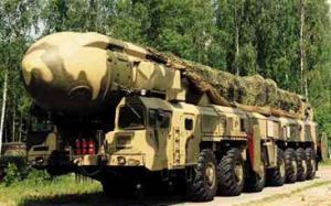 Misil ruso Topol-M