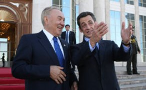sarkozy-y-presidente-de Kazajstán