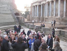 congresistas-en-el-teatro-romano-de-merida