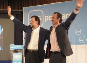 José Ramón Bouza y Mariano Rajoy