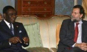 Teodoro Obiang y Mariano Rajoy