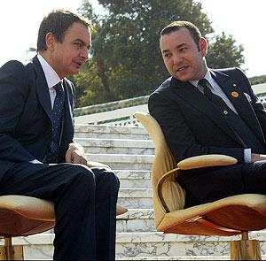 Zapatero sumiso ante Mohamed VI
