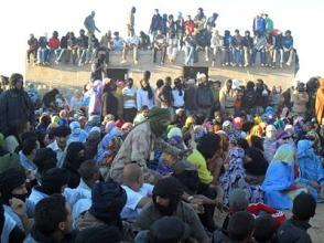 manifestacion-en-el-sahara