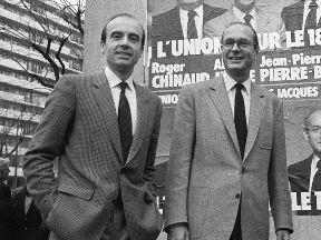 Alain Juppé y Chirac