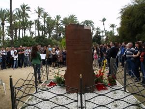 Fotos conmemoración del 96 aniversario del genocidio armenio (Alicante)