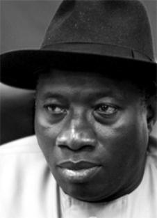 Goodluck Jonathan, presidente de Nigeria