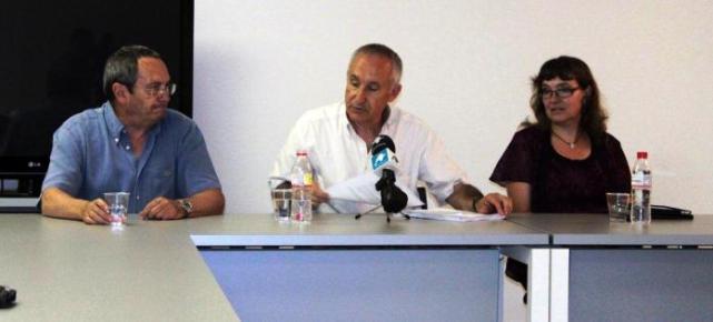 Diego Camacho, Eugenio Pordomingo y Ana Camacho