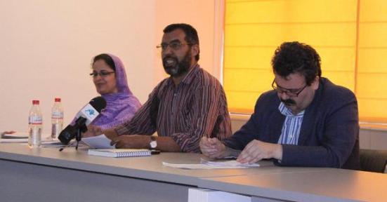 Zahra Ramdán,, Bucharaya Beyun y Federico Echanove
