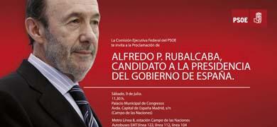 ESPAÑA PARTIDOS PSOE