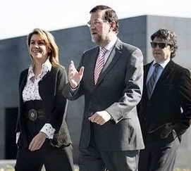 Clinton, Rajoy y Moragas