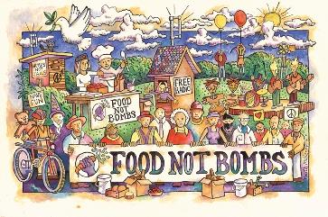 Comida, no bombas