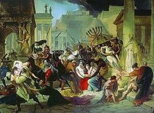La caida de Roma