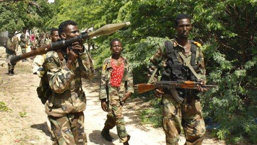 Enfrentamientos armados  en Somalia. Foto RIA Novosti