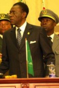 Obiang Nguema en la Cumbre de la Unión Africana