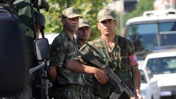 Soldados turcos (Foto RIA Novosti)