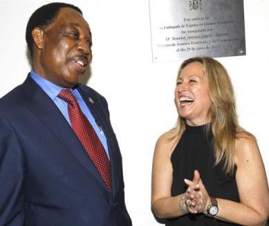 trinidad-jimenez-y-pastor-micha-ministro-de-exteriores-de-guinea-ecuatorial