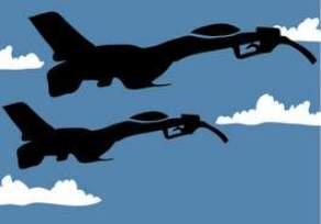 Aviones de la OTAN sobre Libia (Imagen de IU)