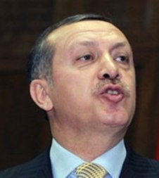 ERdogan, Primer Ministro de Turquía