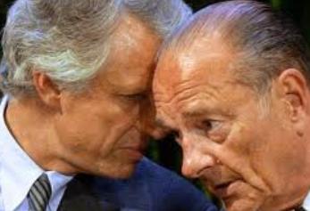 Villepin y Chirac