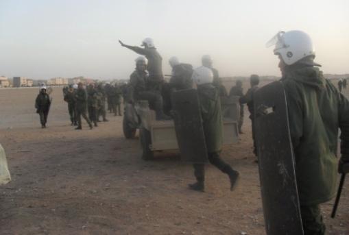 Represión de las fuerzas de ocupación de Marruecos en el Sáhara ccidental