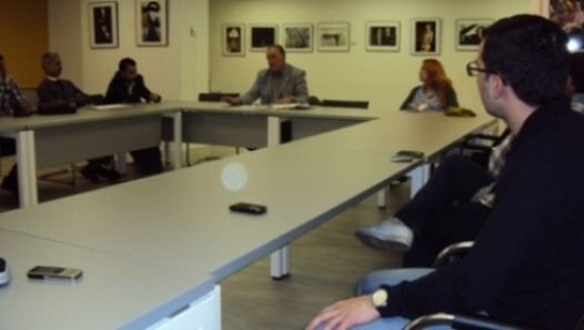 Al fondo, Francisco Ramos de la Sociedad de Estudios Internacionales