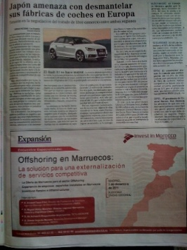 El Mapa de Marruecos según el diario EL MUNDO