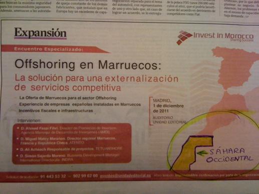 El auténtico Mapa de Marruecos que el diario EL MUNDO no considera
