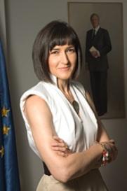Ángeles González-Sinde (Foto Ministerio de Cultura)