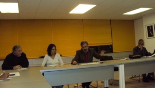 Perote, Nuria García,, Manuel Calvente  y Sidi Ahmed