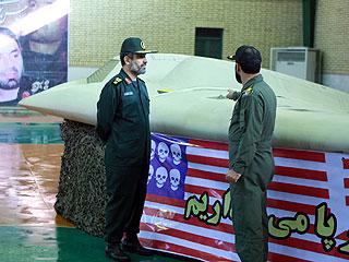 Vión espía estadounidense derribado por Irán. Foto RTVE