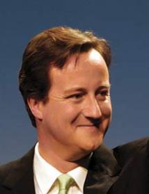 David Cameron, Premier británico, que pronto perderá esa sonrrisa.