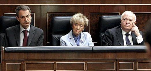 Zapatero,  Maria Teresa Fernández de la Vega y Moratinos