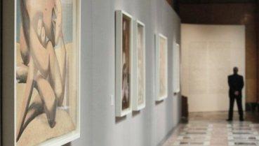 El Museo Pushkin de Moscú expone la obra gráfica de Picasso, Dalí, Miró, Gris, Clavé y  Tàpies. Foto Ria Novosti
