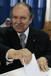 Buteflika, presidente de  Argelia