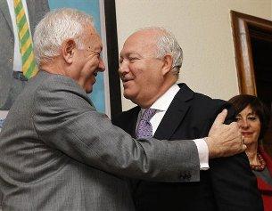 Moratinos peloteando a García-Margallo