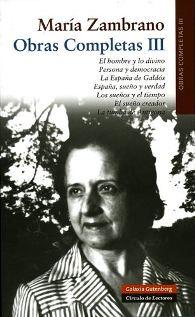iii-volumen-obras-completas-maria-zambrano