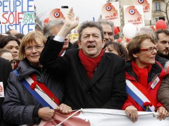 Jean-Luc Mélenchon. Foto RFI