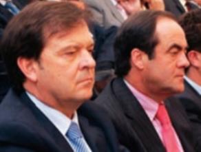 Alberto Saiz y José Bono