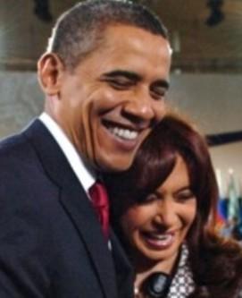 Barack Obama y Cristina Fernandez de Kirchner