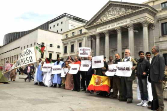 La ilegalidad de los Acuerdos de Madrid origen del drama humanitario saharaui (Foto: Ricardo Aznar)