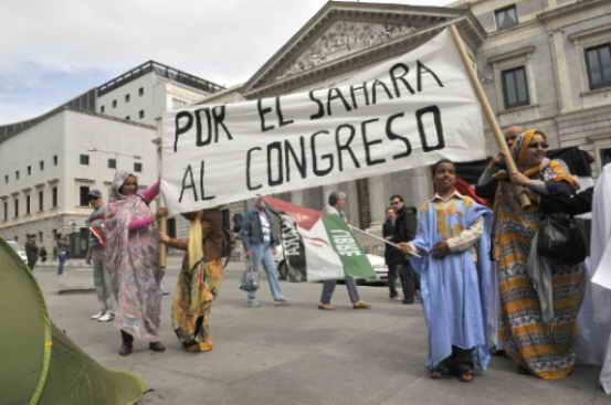 Por el Sahara al Congreso