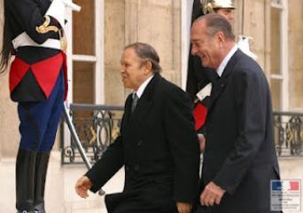 Abdelaziz Boutefklika y Jacques Chirac.