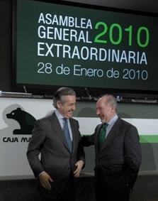 Miguel Blesa y Rodrigo Rato