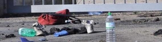 Explosion en un instituto de Brindisi italia (Foto La República=