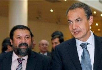 Caamaño y Zapatero